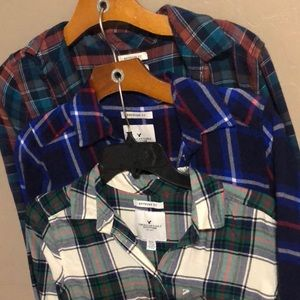 5 Flannels for the price of one!